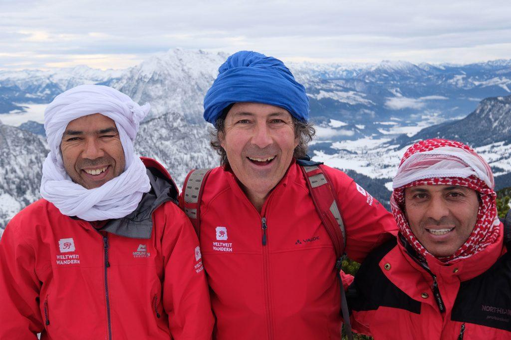 Weltweitwandern lud seine Guides zum Schneeschuhwandern